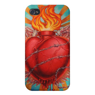 Sacred Heart iPhone 4/4S Case