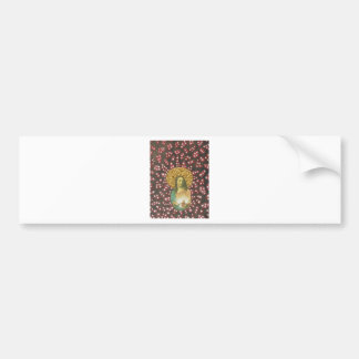Sacred Heart Jesus Bumper Sticker