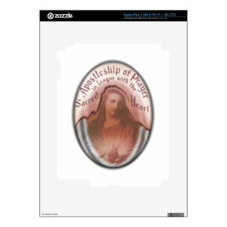 Sacred Heart Jesus Christian Catholic Modern Art Decals For iPad 3