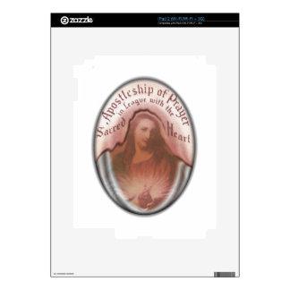 Sacred Heart Jesus Christian Catholic Modern Art iPad 2 Skins