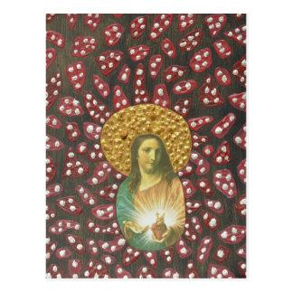 Sacred Heart Jesus Postcard
