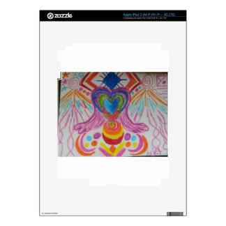 Sacred Heart Light Language iPad 3 Decals