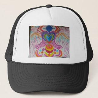 Sacred Heart Light Language Trucker Hat