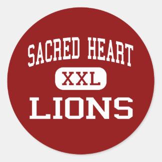 Sacred Heart - Lions - High - Vineland New Jersey Sticker