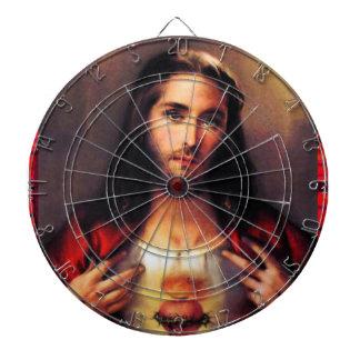 SACRED HEART OF JESUS 06 CUSTOMIZABLE PRODUCTS DARTBOARD
