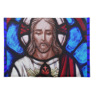 SACRED HEART OF JESUS 09 CUSTOMIZABLE PRODUCTS CLOTH PLACE MAT