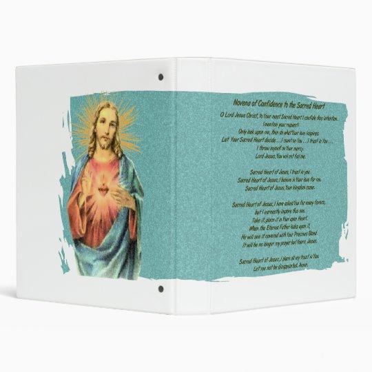 Sacred Heart of Jesus 3 Ring Binder