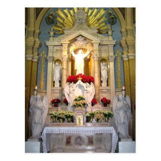 Sacred Heart of Jesus Altar Postcard