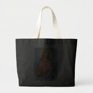 Sacred Heart of Jesus Canvas Bags