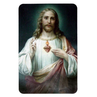 Sacred Heart of Jesus Car/Refrigerator Magnet