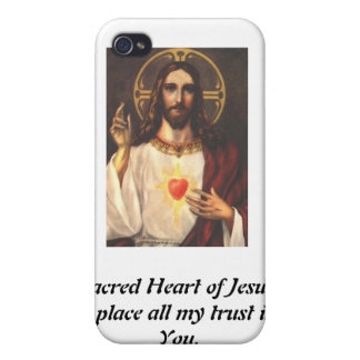 Sacred Heart of Jesus Cover For iPhone 4