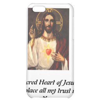 Sacred Heart of Jesus Cover For iPhone 5C