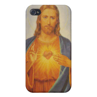 Sacred Heart of Jesus Covers For iPhone 4