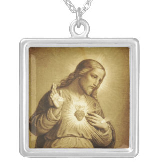 Sacred Heart of Jesus Custom Necklace