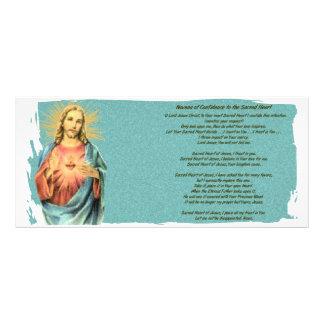 Sacred Heart of Jesus Custom Rack Cards