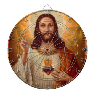 SACRED HEART OF JESUS  CUSTOMIZABLE PRODUCTS DART BOARDS