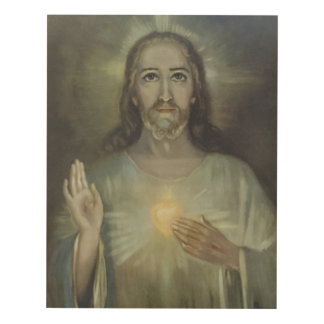Sacred Heart of Jesus Enthronement Panel Wall Art