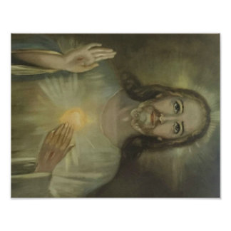 Sacred Heart of Jesus Enthronement Poster