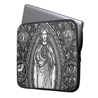 Sacred Heart of Jesus: Generic Laptop Sleeve