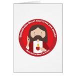 Sacred Heart of Jesus Greeting Card