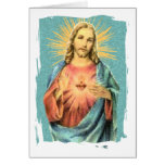 Sacred Heart of Jesus Greeting Cards