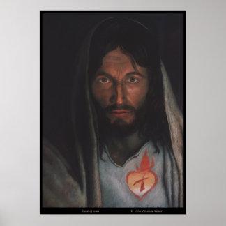 "Sacred Heart of Jesus image ""Heart of Mercy"" Print"