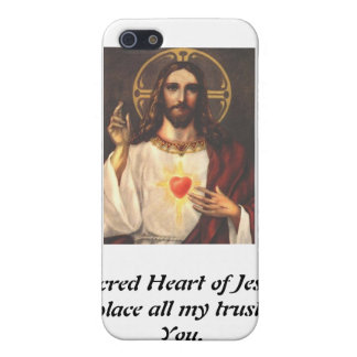 Sacred Heart of Jesus iPhone 5 Covers