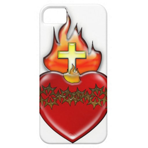 Sacred Heart of Jesus iPhone SE/5/5s Case
