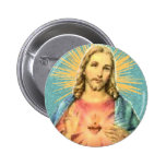 Sacred Heart of Jesus Pinback Button