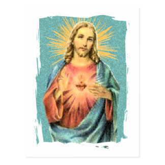 Sacred Heart of Jesus Post Card