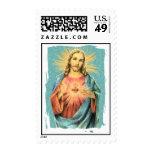 Sacred Heart of Jesus Postage Stamps