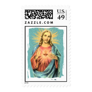 Sacred Heart of Jesus Postage Stamps