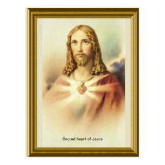 Sacred heart of Jesus Postcard