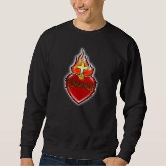 Sacred Heart of Jesus Pullover Sweatshirts