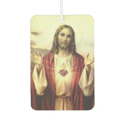 Sacred Heart of Jesus Traditional Catholic Air Freshener