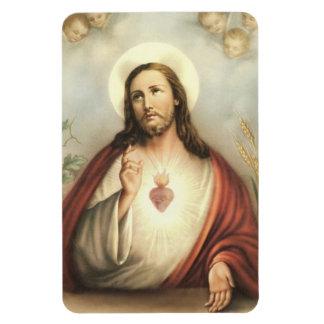 Sacred Heart of Jesus w/cherubs Refrigerator/CAR Magnet
