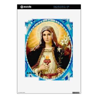SACRED HEART OF MARY 10 CUSTOMIZABLE PRODUCTS SKINS FOR iPad 2