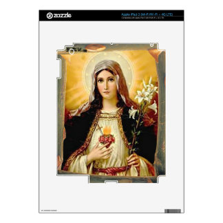 SACRED HEART OF MARY 10 CUSTOMIZABLE PRODUCTS SKIN FOR iPad 3
