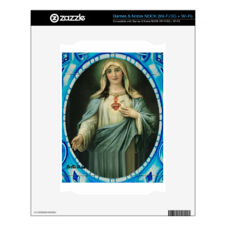 SACRED HEART OF MARY 13 CUSTOMIZABLE PRODUCTS NOOK DECALS