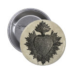 Sacred Heart Pinback Buttons