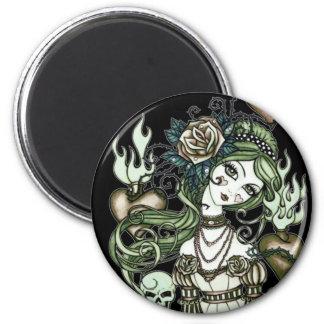 Sacred Heart Round Magnet