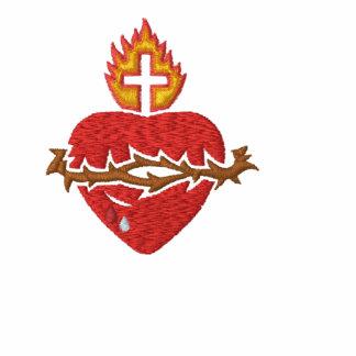 Sacred Heart - Sagrado Corazon Embroidered Shirt