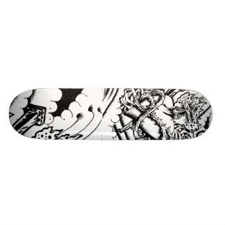 Sacred Heart Skateboard Deck