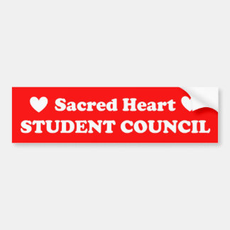 Sacred Heart Student Council Bumper Sticker