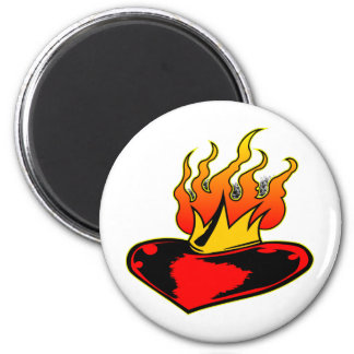 Sacred Heart Tattoo Magnet