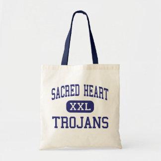Sacred Heart - Trojans - High - Ville Platte Canvas Bag