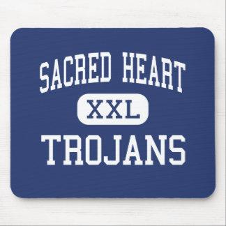 Sacred Heart - Trojans - High - Ville Platte Mouse Pad