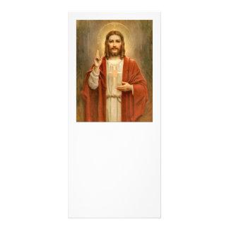 Sacred Heart with Halo Rack Card