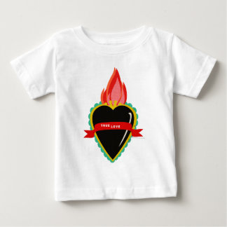 Sacred Heart with True Love Ribbon Sash Tee