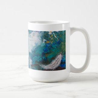 Sacred Hello Feather Mug